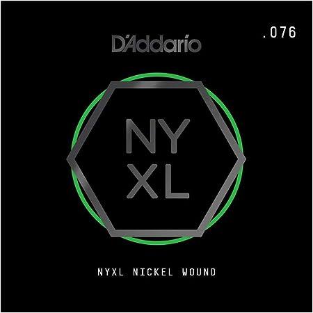 D'Addario NYNW076 - Cuerda para guitarra eléctrica de níquel.076