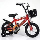 Bicicleta infantil de 16 pulgadas para niños de 4 a 10 años.