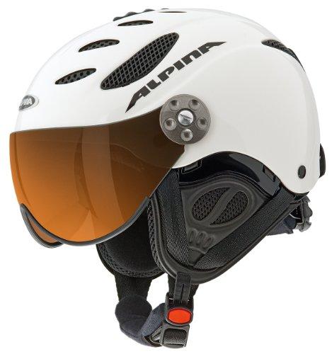 Alpina Skihelm Jump JV, White Matt, 55-57 cm, 9037212
