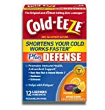 Cold-Eeze Plus Defense Citrus with Elderberry Lozenges 12ct
