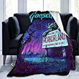 USWYyzyyt Goosebumps Soft Blanket Throw Blanket Microfleece Blanket Fluffy Cozy Blanket Bedroom Living Room Sofa Warm Blanket 80'X60'