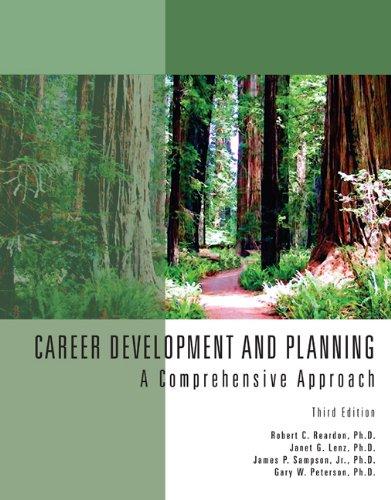 Career Development & Planning: A Comprehensive Approach