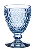 Villeroy & Boch Boston Coloured Verre à Vin Blanc Bleu, 230 ml, Cristallin, Bleu