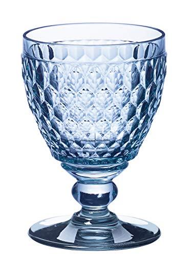 Villeroy & Boch Boston Coloured Copa de Vino Blanco, 230 mililitros, Cristal, Azul