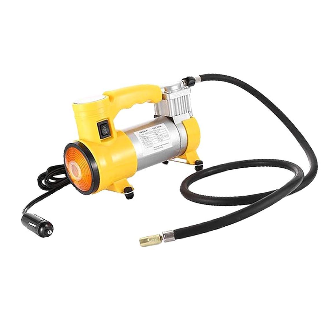 スペルコントローラ甘味12V ミニ タイヤインフレータ 空気入れ 車 ボール おもちゃに適合 LEDライト 圧力計付き プロ仕様