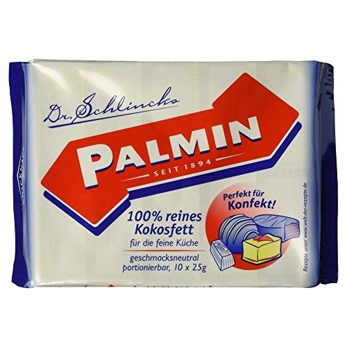 Palmin 100% reines Kokosfett, 1er Pack (1 x 250 g)