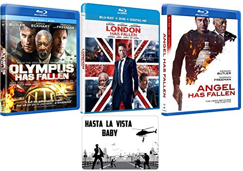 Olympus / London / Angel Has Fallen: Complete Movie Series Blu-ray Collection with Bonus Art Card