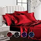Best Satin Sheets - Todd Linens Sexy Satin Sheets 6 Pcs Queen/King Review