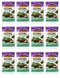 Annie Chun s Organic Seaweed Snacks, Sea Salt, 0.16 oz (Pack of 12)