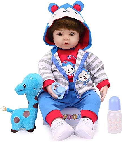 Kaydora Reborn Baby Dolls, Realistic Baby Reborn Dolls, 18inch Lifelike Baby Dolls for Boy Age 3+