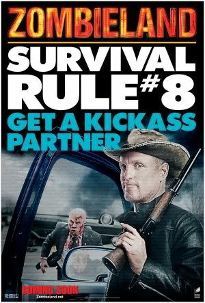 ZOMBIELAND - WOODY HARRELSON – Imported Movie Wall Poster Print – 30CM X 43CM SURVIVAL RULE 8