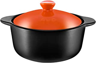 Stew Pot Cookware Terracotta Casserole Dishes With Lids - Green And Environmentally Friendly, Durable And Easy To Clean-or...