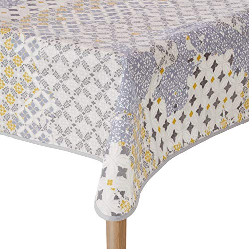 Nydel EW360G53813 Vierkant tafelkleed - 160 x 160 cm - IJs