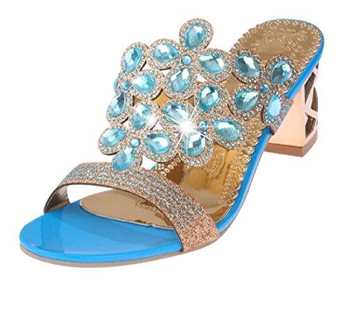 Aooword-women clothes Diapositivas de Moda Zapatos de Verano Zapatos de Vestir de...