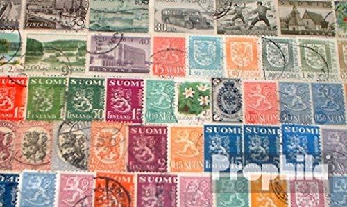 Prophila Collection Finnland 100 Verschiedene Marken (Briefmarken für Sammler)