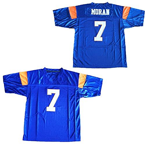 Alex Moran Jersey Moran #7 Football Jersey Blue Mountain State TV Series Jersey tv Show Costumes