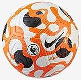 Nike DC2210 Premier League Strike Recreational Soccer Ball Unisex-Adult White/Black/Hyper Crimson/Black 5