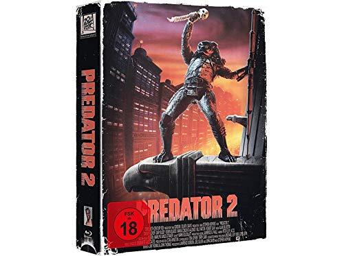 PREDATOR 2 - Exklusive VHS Retro Tape Edition nummeriert Limitiert auf 1.111 Stück - Uncut - Blu-ray