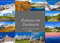 Ramsau am Dachstein (Wandkalender 2022 DIN A4 quer): Impressionen von der Ramsau am Dachstein (Monatskalender, 14 Seiten )