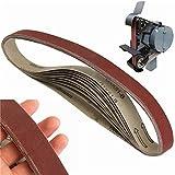 EsportsMJJ 10St 760X25Mm 400 Grit Schleifbänder Schleifpapier