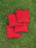 Cornhole Set mit einem Brett und 8 Säckchen - Top Qualität made in Germany, handgemachtes Board und Bean Bags - 5