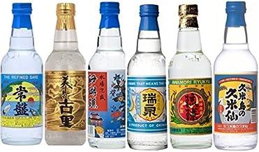 お中元 御歳暮 ギフト 対応します。即日発送 !泡盛 6蔵6種 飲み比べ360ml×6本 [沖縄県] ギフト対応します。