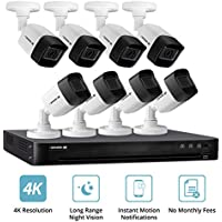 Defender 4K 2160p 8-Ch. 8-Camera Wired 2TB Security System