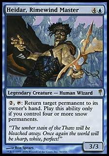 Magic: The Gathering - Heidar, Rimewind Master - Coldsnap - Foil