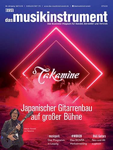 B&G Guitars / Takamine Japanischer Gitarrenbau / musicpark Messe Leipzig 2019