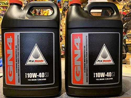 Honda Pro GN4 4-Stroke Motor Oil 10W-40 1 Gallon - Twin Pack