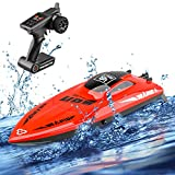 STOTOY Remote Control Boat RC Boat for Kids/Adults, High Speed Electronic RC Racing Boat Indoor/Outdoor Toy for Pools and Lakes (Only Works in Water)