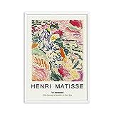 Carteles e impresiones retro de Henri Matisse paisaje abstracto...
