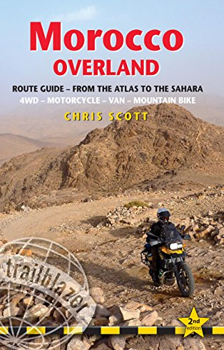 mountain bike scott Morocco Overland: Route Guide - From the Atlas to the Sahara: 4WD - Motorcycle - Van - Mountain Bike [Lingua Inglese]