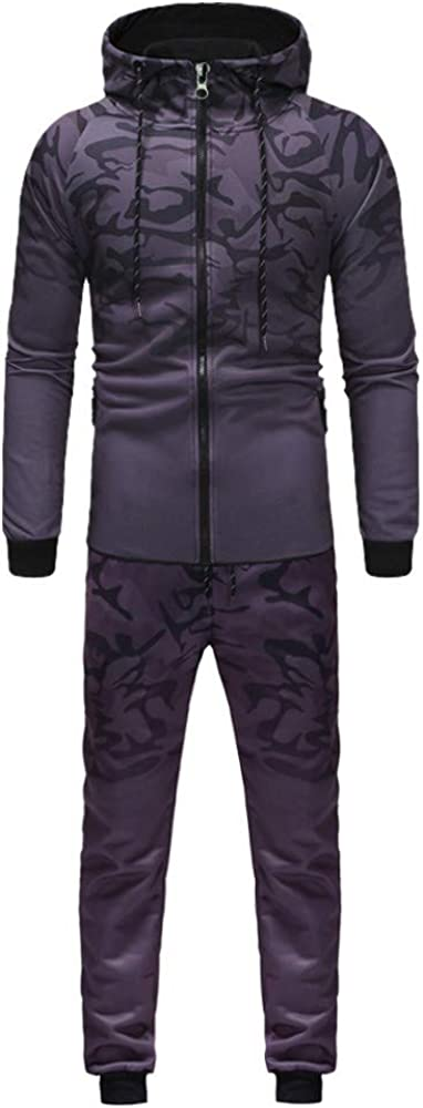 Mens Gradient A surprise price is realized Sport Suits Contrast Raglan Jogging Pleated Sleeve Special price