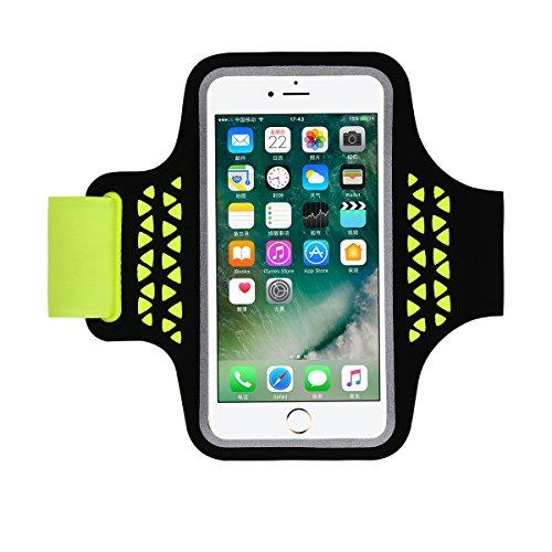 HAISSKY Sportiva Armband Braccio Per iPhone 7 Plus/6S Plus/6 Plus Fascia da Braccio con il supporto di Key & Ports...