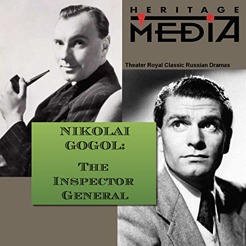 The Inspector General                   By:                                                                                                                                 Nikolai Gogol                               Narrated by:                                                                                                                                 Laurence Olivier                      Length: 19 mins     5 ratings     Overall 3.2