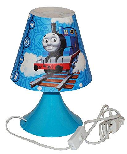alles-meine.de GmbH Tischlampe Thomas and Friends - 29 cm hoch Eisenbahn Lok Lokomotive Lampe Stehlampe Tischleuchte Kinder Kinderzimmer Seine Freunde