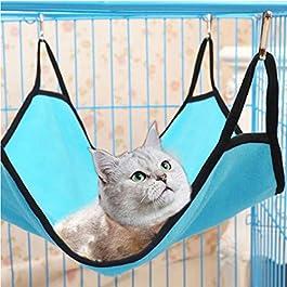 WYXlink wyxhkj Hammock For Pet Hamster Rat Parrot Ferret Hamster Hanging Bed Cushion House Cage