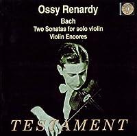 Bach: Two Sonatas for Solo Violin - Violin Encores