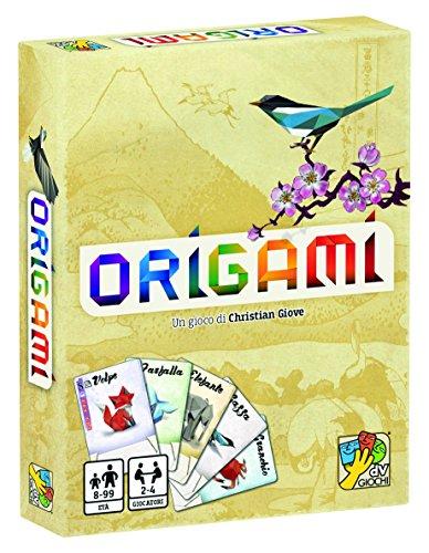 dV Giochi- Origami-Un Gioco di Carte Veloce e Adatto a Tutti-Edizione Italiana, DVG9338