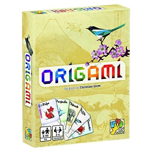 dV Giochi- Origami-Un Gioco di Carte Veloce e Adatto a Tutti-Edizione Italiana, Multicolore, DVG9338