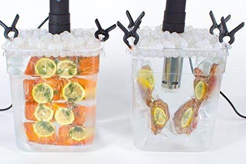 Locisne Sous Vide Kochen Bälle BPA Free 20mm 250 Bälle mit Mesh Trockentasche Für Anova Joule Herde Wasser Bad Kochen und Sous Vide Container - 2