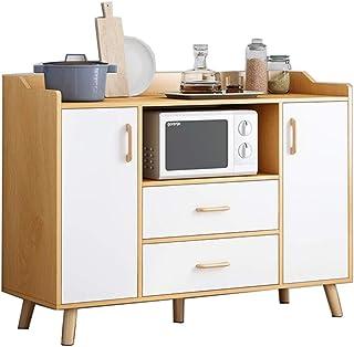 Vobajf Buffet Buffet Buffet Cuisine Rangement CabinetCupboard avec Table Organisateur Vestibule Buffets, crédences et vais...