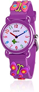 OuWen Unique Design 3D Cute Cartoon Kids Waterproof Watch -Best Gifts