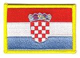 Flaggen Aufnäher Patch Kroatien Fahne Flagge NEU