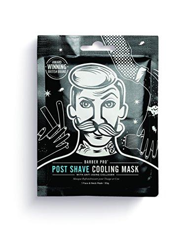 BARBER PRO POST SHAVE cooling mask for men with anti-ageing collagen (Kühlmaske)