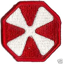 Embroidered Patch - Patches for Women Man - US Army 8TH Army