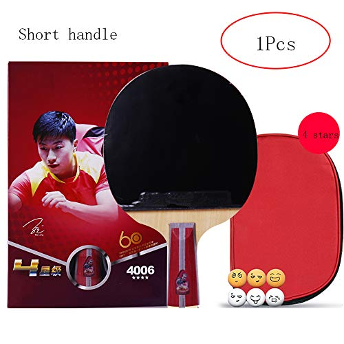 Sale!! SSHHI 4 Star Table Tennis Racket, Offensive Table Tennis Racket, Home Professional Racket,Fas...