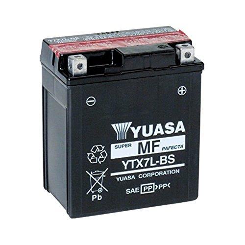 YUASA 61319 - Bateria alta calidad YTX7L-BS Combipack (con electrolito)