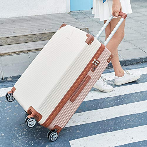 YANYINGDE Trolley Kofferset Reisekoffer Set mit Rollen,Large Capacity Suitcase, Trolley Password Suitcase@Before The Rice and Gold (Single Box)_26...